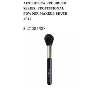Sephora Makeup - AESTHETICA PROFESSIONAL POWDER MAKEUP BRUSH P12